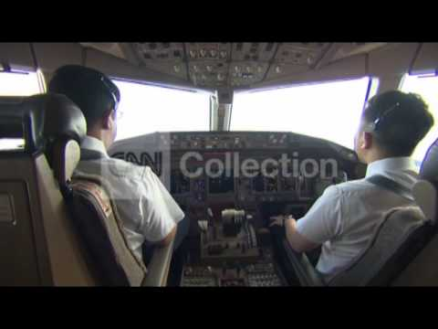 MALAYSIA AIRLINES:RICHARD QUEST W CO-PILOT