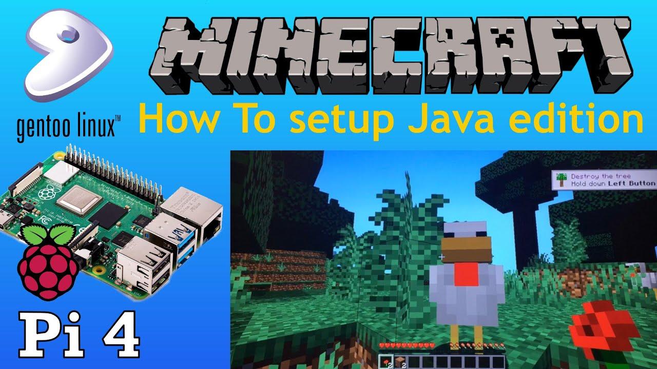 Minecraft Java on Raspberry Pi 4 How to setup and install YouTube
