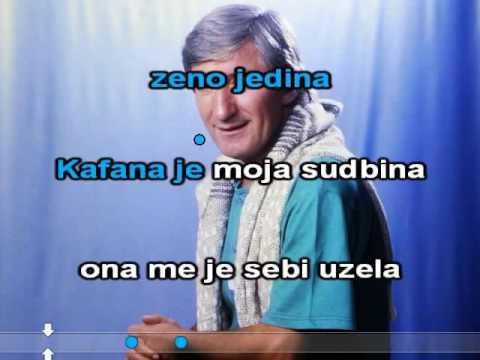 Toma Zdravkovic   Kafana je moja sudbina ♫   KARAOKE   ♫