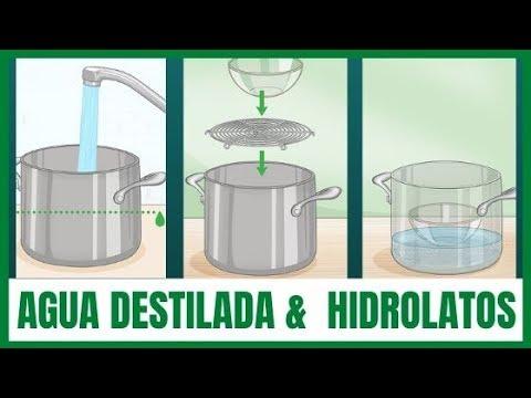Cómo Hacer Agua Destilada Muy Fácil Hidrolato Romero Youtube