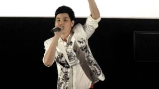 kao jirayu artis thai menyanyi di blitzmegaplex Grand indonesia jakarta ost chiang khan story