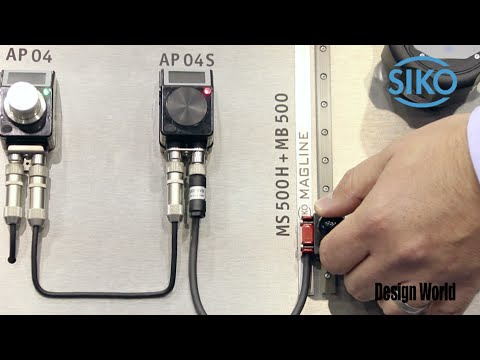 Electronic position sensors from SIKO highlighted at PackExpo