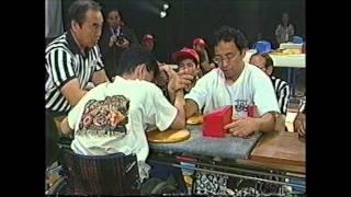 1999全日本アームレスリング選手権大会 車いすの部