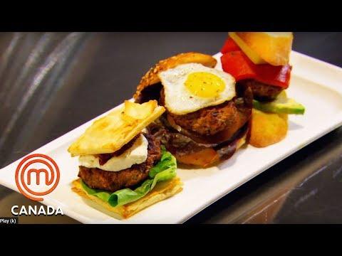 The Mystery Box Burger Challenge | MasterChef Canada | MasterChef World