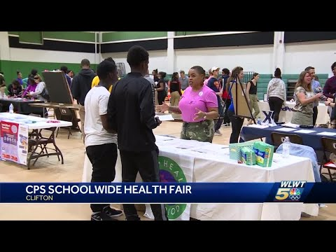 CPS hosts first health and career fair for 2,000+ high school students thumbnail