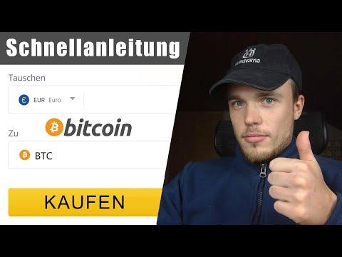 Bitcoin kaufen ✔️ ANLEITUNG für Anfänger (0,06% Gebühren) – Tutorial Deutsch