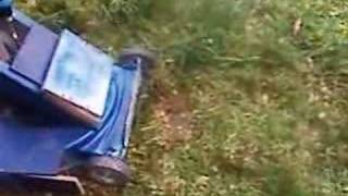 Homemade Electric Lawnmower