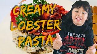Creamy Lobster Pasta
