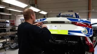 Volvo Polisbil 2018 Mikael baklucka
