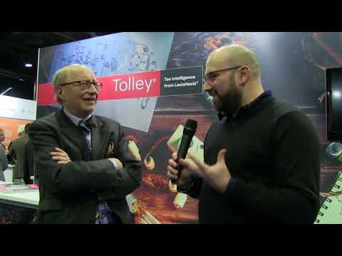 Accountex North 2018: Tom Herbert interviews Andrew Hubbard from Tolley CPD
