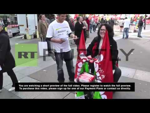 France: Left front hope to sweep away austerity