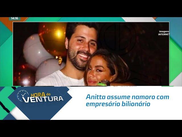 Anitta assume namoro com empresário bilionário e diz que não liga para conta bancária