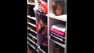 Closet Tour For Small Closets: Closet Tour And Organization 2013 | Ciarahoneydip