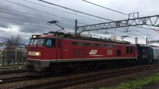 【JR】9563レ キハ261系1000番台8B(鋼体)甲種輸送 新津発車
