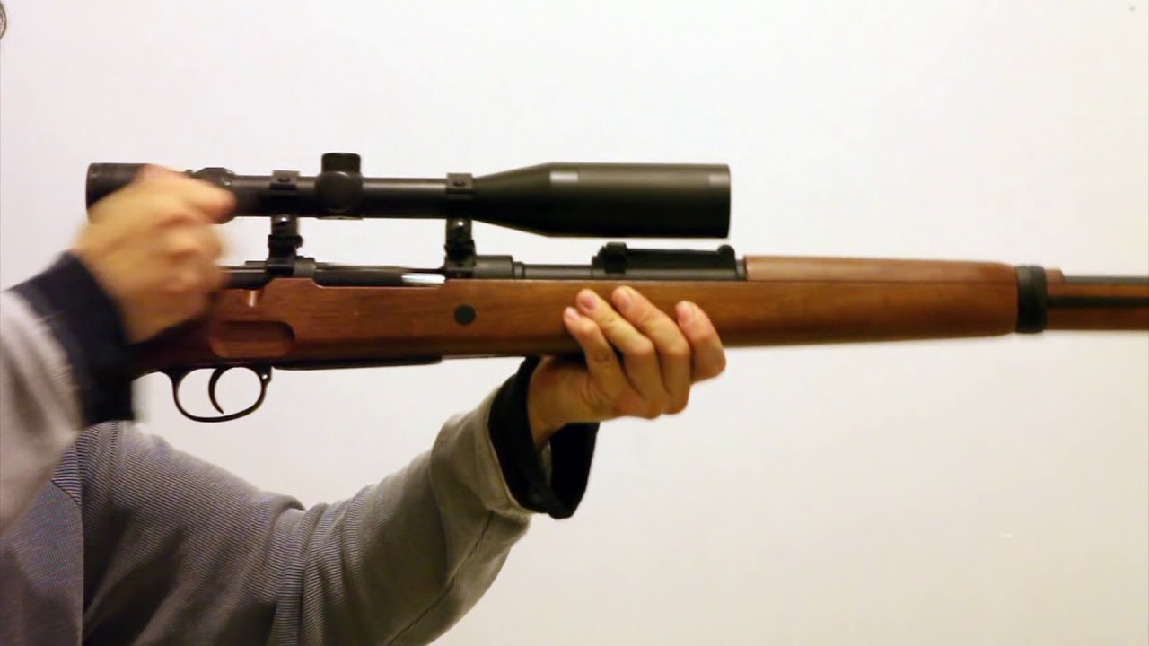 Dboy Mauser Kar98k With Sniper Scope Karabiner 98k Doovi