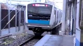 京浜東北線E233系快速大船ゆき大宮駅発車 thumbnail