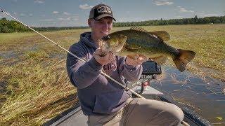 Downsize Flipping Baits for Easier Grass Fishing