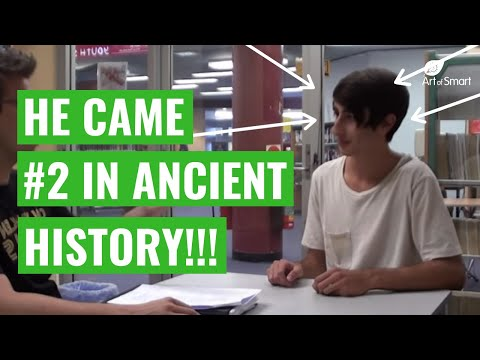 Band 6 Student: How To Study For Ancient History