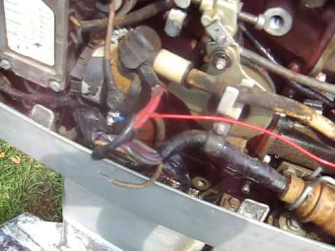 hqdefault 1971 evinrude wiring problem youtube 1971 50 hp evinrude lark wiring diagram at bayanpartner.co