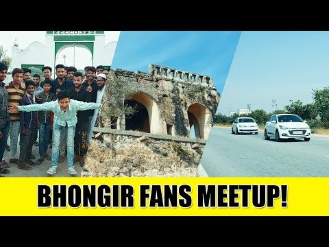 Bhongir Fort & Crazy Road Trip || Meetup || Warangal Diaries