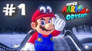 МАРИО ОДИССЕЯ 🌏 Super Mario Odessey # 1 [Прохождение]