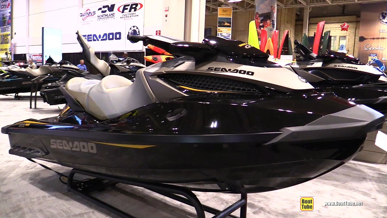 2017 Sea Doo GTX 155 Jet Ski - Walkaround - 2017 Toronto Boat Show