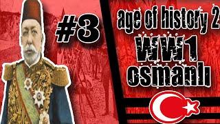 ''30dk özel Video '' // 1.DÜNYA SAVAŞI OSMANLI  Age Of History 2    Bölüm 3