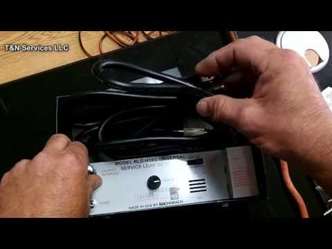 H10 HVAC Leak Detector Tutorial