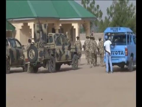 Watch Nigerian Army Storm Sambisa Forest