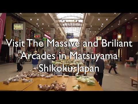 Visit The Massive and Brilliant Arcades in Matsuyama Shikoku, Japan