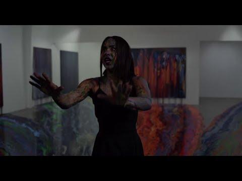 Velvet Buzzsaw (2019) Paint scene + Hoboman (not scrary) Robot