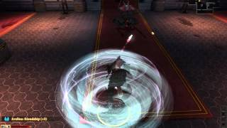 Dragon age 2 Blood mage vs Arishok duel NIGHTMARE no potions