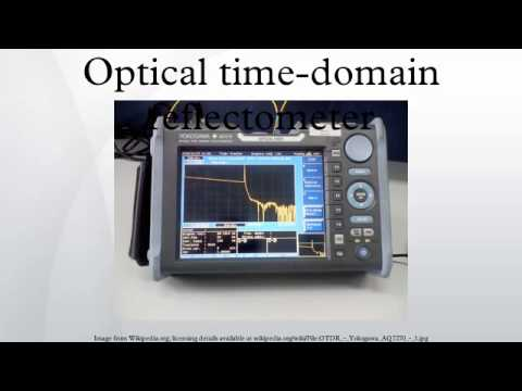 Optical time-domain reflectometer