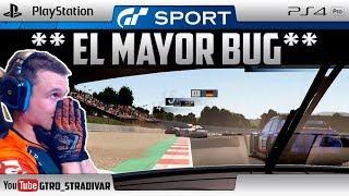**EL MAYOR BUG** DE GRAN TURISMO SPORT   GTro_stradivar Carrera Online