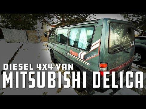 Mitsubishi Delica L 300 4x4 Diesel Van Walkaround