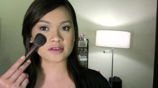 HG: Lunasol Sand Natural Cheeks & Cheek Brush N Thumbnail