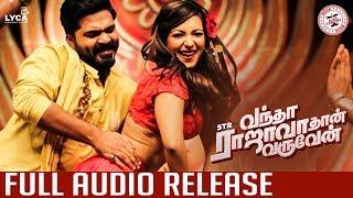 Vantha Rajavathaan Varuven Full Audio Release Date