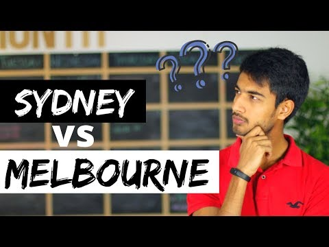 Sydney Vs. Melbourne | Where To Study In Australia | Melbourne Vibe