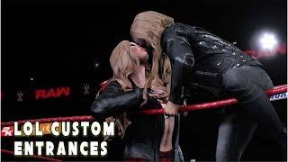 LOL Custom Entrances - Ronda Rousey  | WWE 2K18