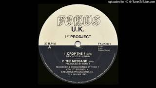 A1 - 1st Prodject - Drop The ?