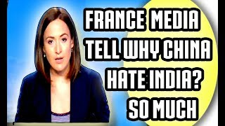 FRENCH MEDIA SLAMS on china cheap GAME tricks on India USING PAKISTAN AS SUPPORTER 2017 La ...