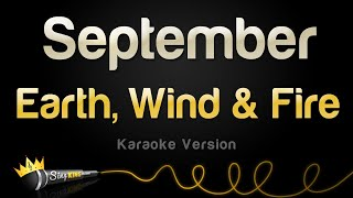 Earth, Wind & Fire - September (Karaoke Version)