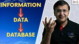 Part 1.1| DATA INFORMATION DATA BASE DATA BASE MANAGEMENT SYSTEM definition difference what