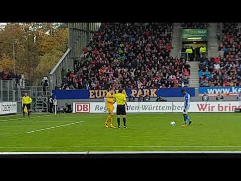 SC FREIBURG vs Hertha BSC Berlin -1. Elfmeter - 9. Spieltag Buli 2017/18