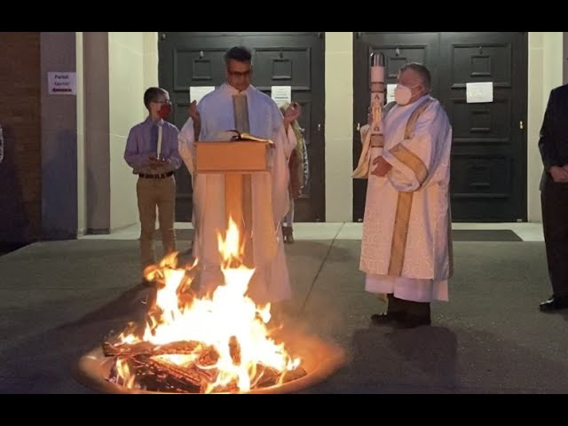 Apr. 3, 2021 - Easter Fire - Fr. Maxy D'Costa (video)
