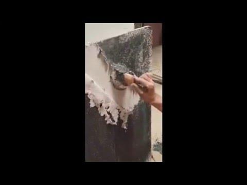 C mo quitar gotele pl stico youtube - Quitar gotele plastico ...