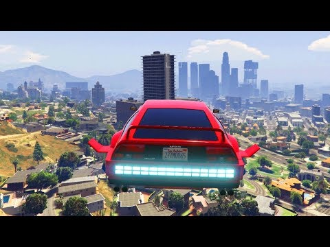 FLYING CAR IN GTA ONLINE - THE BEST VEHICLE IN GTA V