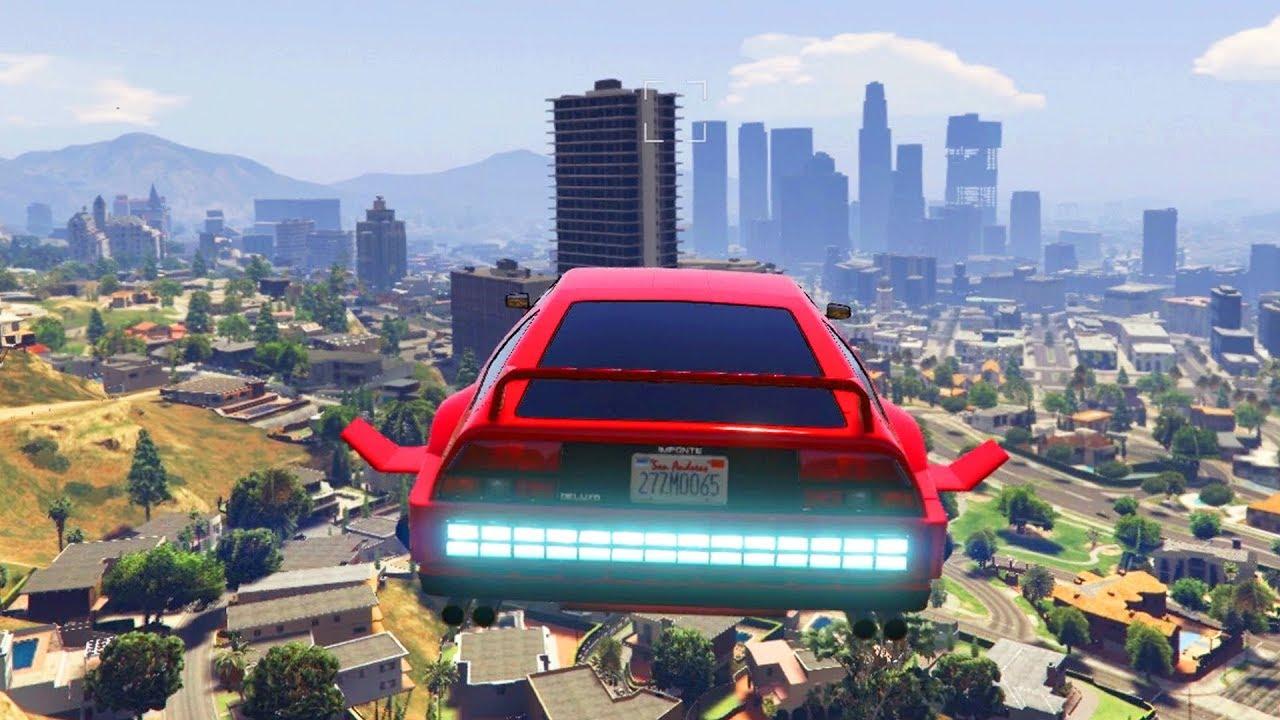 FLYING CAR IN GTA ONLINE THE