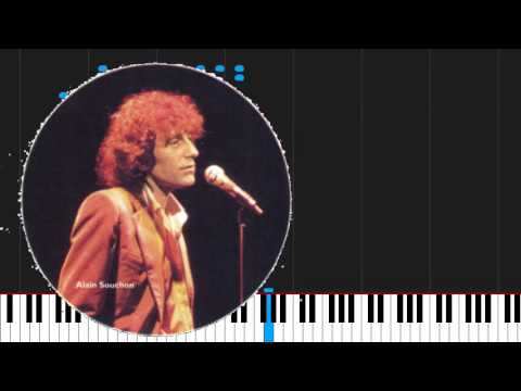 How to play J'ai dix ans by Alain Souchon on Piano Sheet Music