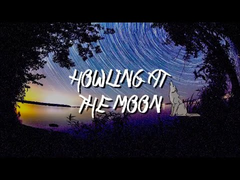 WOLF GRIPTAPE HOWLING AT THE MOON
